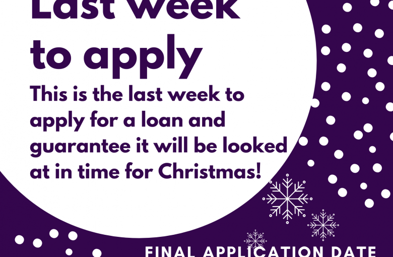 Christmas Loan Deadline