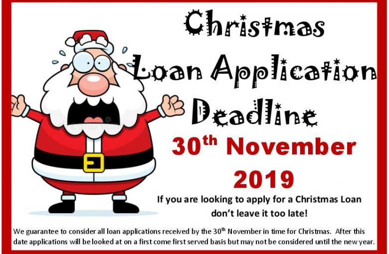Loan Application Deadline
